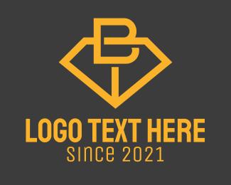 Initial - Minimalist Jewelry Letter B logo design