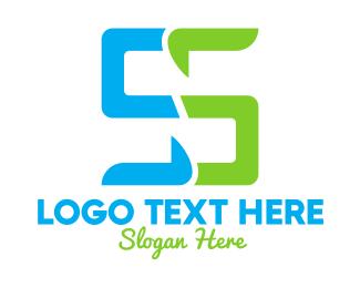Gadgets - Digital Letter S logo design