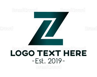 Lettermark Z - Industrial Letter Z logo design