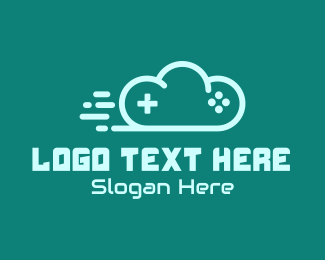 Remote - Fast Cloud Controller logo design