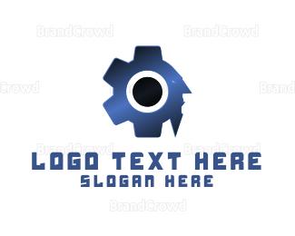Equipment - Man Machine logo design