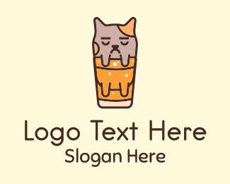 Soda - Cat Soda Mascot logo design