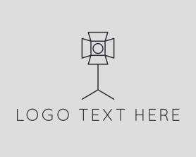 Light - Photography Lighting Spotlight logo design