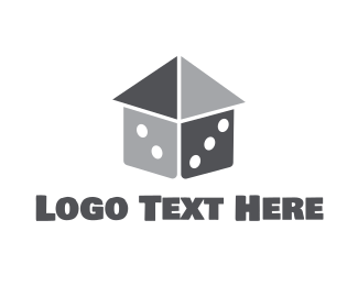 Concreter - Dice House logo design