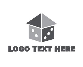 Concreter - Dice House logo design