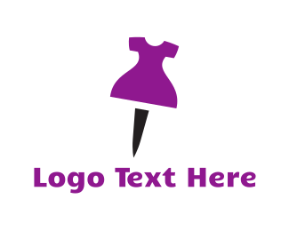 Legs - Dress Pin logo design