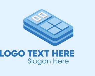 Buttons - Simple 3D Calculator  logo design
