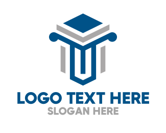 Professional - Modern Professional Pillar logo design