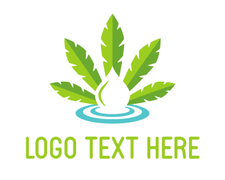 Cannabis - Cannabis Drop logo design