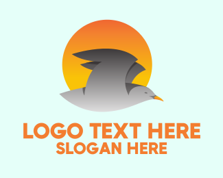 Fly - Flying Bird logo design