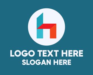 Seating - Furniture Letter H logo design
