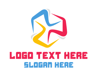 Triathlon - Colorful Marathon logo design