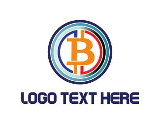 Exchange - Bitcoin Circles logo design