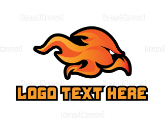 Predator - Fire Hawk Gaming logo design