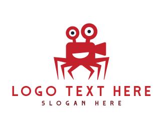 Crab - Crab Film logo design
