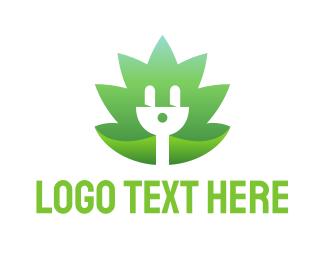 Electrical - Renewable Eco Electricity logo design