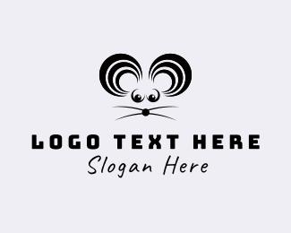 Ear - Mouse Sound logo design