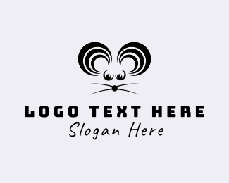 Rat - Mouse Sound logo design