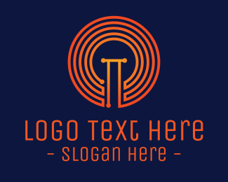 Electrical - Electric Bulb logo design