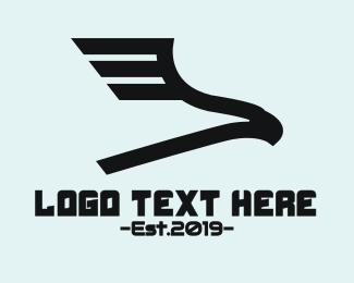 Vulture - Modern Gaming Ealge logo design