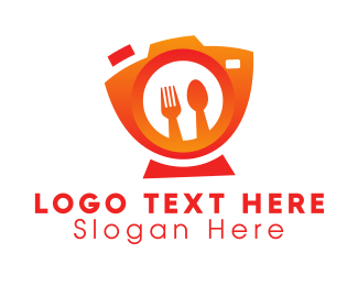 Chef - Food Photographer logo design