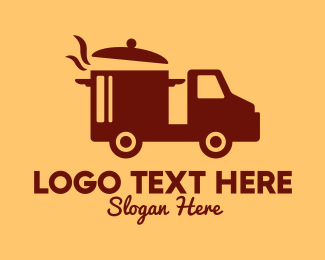 Delivery Service - Hot Pot Delivery Service logo design