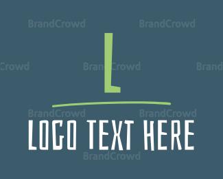 Craft - Funky Letter logo design