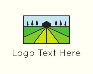 Farmers - Green Agriculture logo design