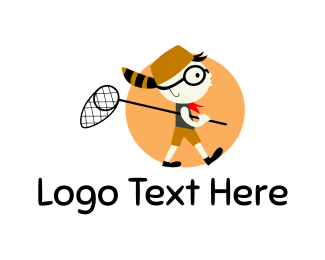 Boy And Girl - Boy Scout logo design