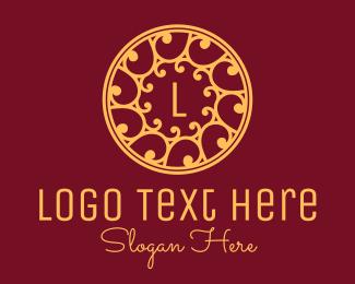 Swirls - Classy Swirl Circle logo design