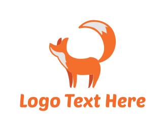 Furry - Cute Fox logo design