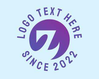 Letter Z - Purple Letter Z logo design