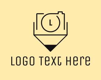Blog - Camera Pencil logo design