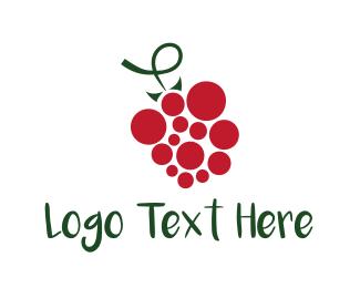 Grape - Red Grape logo design