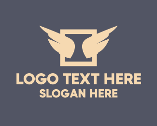 Wing - Wings Emblem logo design