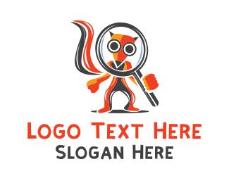 Zoom - Fox Zoom logo design