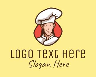 Happy - Happy Restaurant Chef logo design