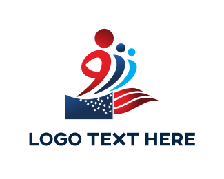 People - Patriotic People logo design