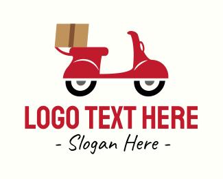 Wheels - Parcel Delivery Service logo design