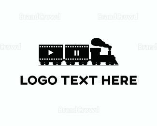 Animation - Multimedia Train logo design