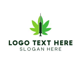 Weed - Cannabis Medic  logo design