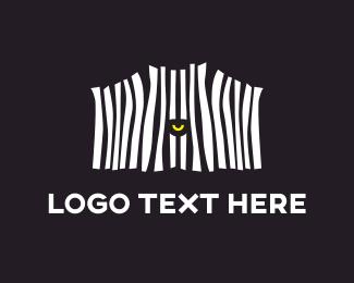 Madagascar - Zebra Eye logo design