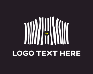 Zebra - Zebra Eye logo design