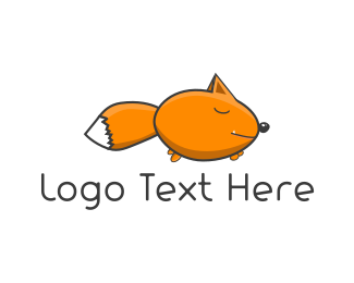 Red Fox - Little Fox logo design