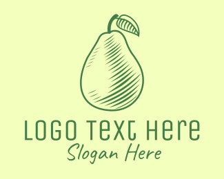 Green Pear - Green Pear logo design