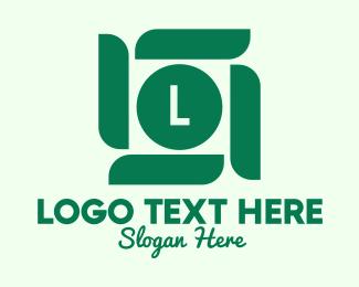 Simple - Green Business Lettermark  logo design