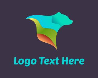 Teddy Bear - Tech Bear logo design