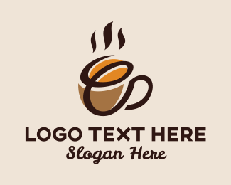 """""""Coffee Bean Cup Letter E"""" by ions"""