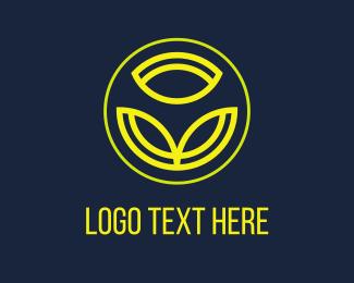 Bouquet - Yellow Flower logo design
