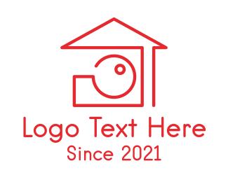 Video - House Property Photography  logo design